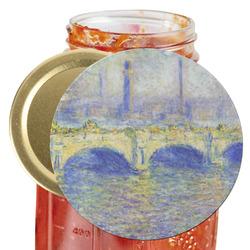 Waterloo Bridge by Claude Monet Jar Opener