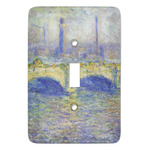 Waterloo Bridge by Claude Monet Light Switch Covers