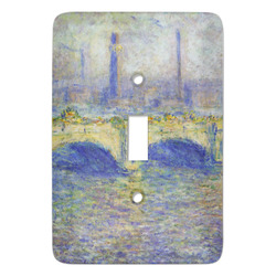 Waterloo Bridge by Claude Monet Light Switch Covers