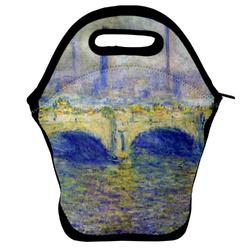 Waterloo Bridge by Claude Monet Lunch Bag