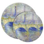 Waterloo Bridge by Claude Monet Melamine Plate
