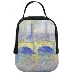 Waterloo Bridge by Claude Monet Neoprene Lunch Tote
