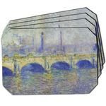 Waterloo Bridge by Claude Monet Dining Table Mat - Octagon