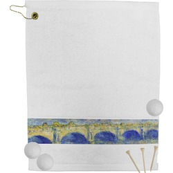 Waterloo Bridge by Claude Monet Golf Towel
