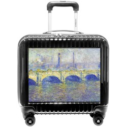 Waterloo Bridge by Claude Monet Pilot / Flight Suitcase