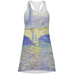 Waterloo Bridge by Claude Monet Racerback Dress