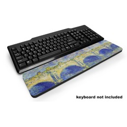 Waterloo Bridge by Claude Monet Keyboard Wrist Rest