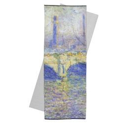 Waterloo Bridge by Claude Monet Yoga Mat Towel