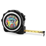 Abstract Eye Painting Tape Measure - 16 Ft
