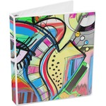 Abstract Eye Painting 3-Ring Binder