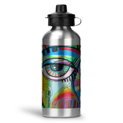 Abstract Eye Painting Water Bottle - Aluminum - 20 oz