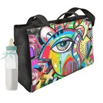 Abstract Eye Painting Diaper Bag