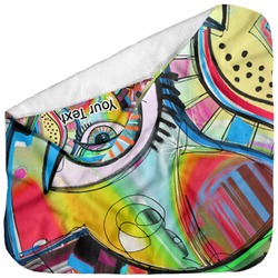 Abstract Eye Painting Baby Hooded Towel
