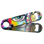 Abstract Eye Painting Bar Bottle Opener