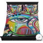 Abstract Eye Painting Duvet Covers