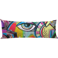 Abstract Eye Painting Body Pillow Case
