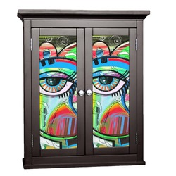 Abstract Eye Painting Cabinet Decal - Custom Size