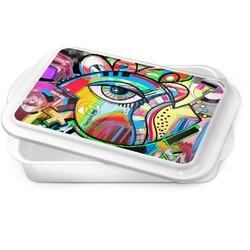 Abstract Eye Painting Cake Pan
