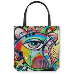 Abstract Eye Painting Canvas Tote Bag