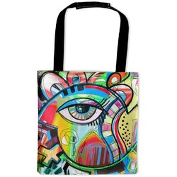 Abstract Eye Painting Auto Back Seat Organizer Bag