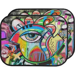 Abstract Eye Painting Car Floor Mats (Back Seat)