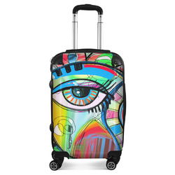 Abstract Eye Painting Suitcase