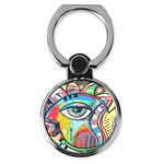 Abstract Eye Painting Cell Phone Ring Stand & Holder