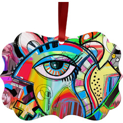 Abstract Eye Painting Ornament