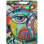 Abstract Eye Painting Clipboard