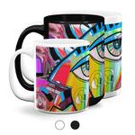 Abstract Eye Painting Coffee Mugs
