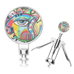Abstract Eye Painting Corkscrew