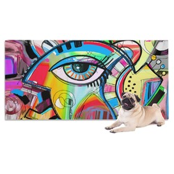 Abstract Eye Painting Pet Towel