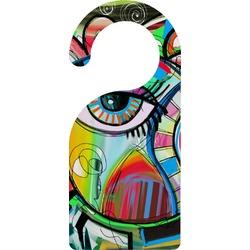 Abstract Eye Painting Door Hanger