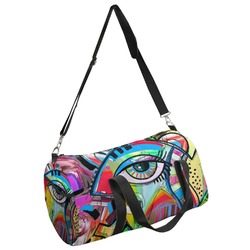 Abstract Eye Painting Duffel Bag