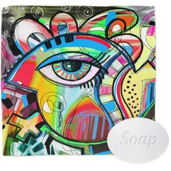 Abstract Eye Painting Wash Cloth