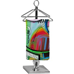 Abstract Eye Painting Finger Tip Towel - Full Print