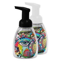 Abstract Eye Painting Foam Soap Bottle