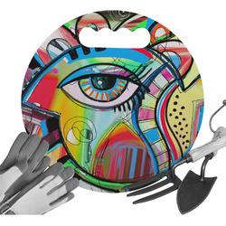 Abstract Eye Painting Gardening Knee Cushion