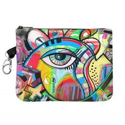 Abstract Eye Painting Golf Accessories Bag