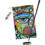 Abstract Eye Painting Golf Towel Gift Set