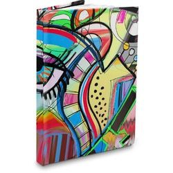 Abstract Eye Painting Hardbound Journal