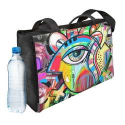 Abstract Eye Painting Ladies Workout Bag