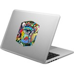 Abstract Eye Painting Laptop Decal