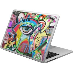Abstract Eye Painting Laptop Skin - Custom Sized