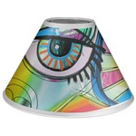Abstract Eye Painting Coolie Lamp Shade