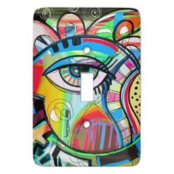 Abstract Eye Painting Light Switch Covers