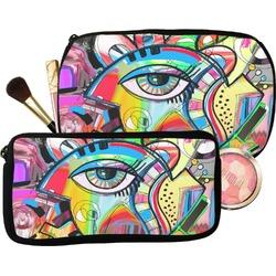 Abstract Eye Painting Makeup / Cosmetic Bag
