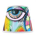 Abstract Eye Painting Empire Lamp Shade