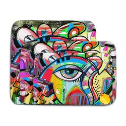 Abstract Eye Painting Memory Foam Bath Mat