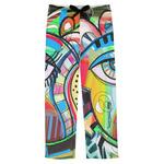 Abstract Eye Painting Mens Pajama Pants